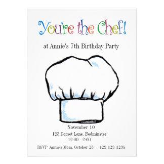 You re the Chef invitation