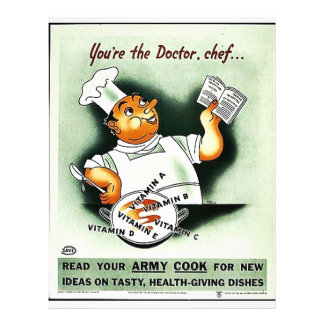 You re The Doctor Chef Personalized Flyer