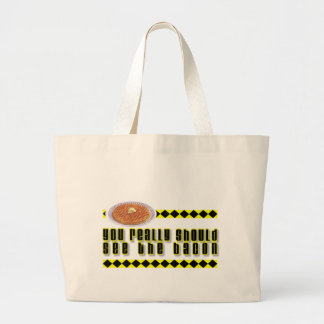 You Really Should See the Bacon Tote Bag