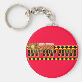 You Really Should See the Bacon Key Chain