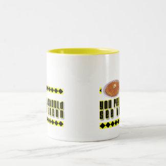 You Really Should See the Bacon Two-Tone Coffee Mug