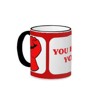 You reap what you vote ringer mug