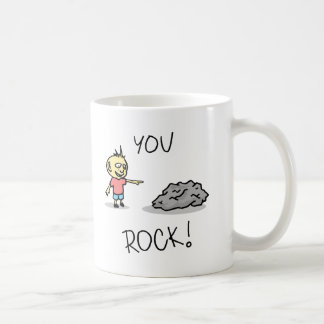 You Rock! Cartoon. Coffee Mug