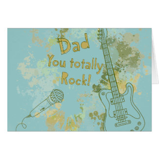 You Rock, Dad Card