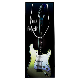 You Rock!, Electric Guitar Wine Gift Bag