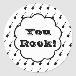 You Rock - Electric Guitars Sticker