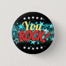 You Rock employee recognition award button