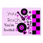 """You Rock Invitation 5"""" X 7"""" Invitation Card"""