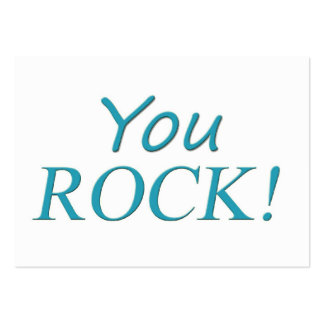 You Rock! Large Business Card