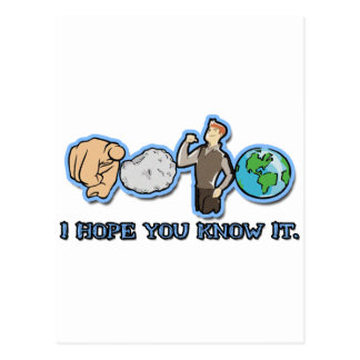You Rock My World (I Hope You Know It) Postcard