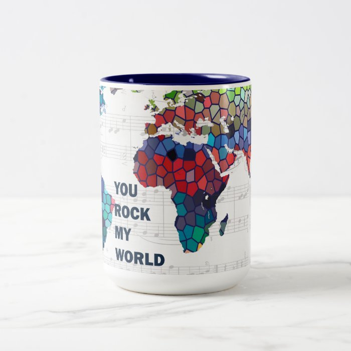 You Rock my World Mug