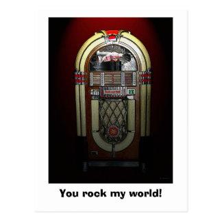 You Rock My World Postcard