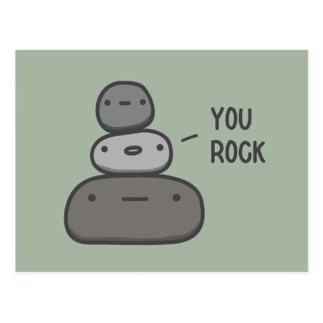 You Rock Postcard