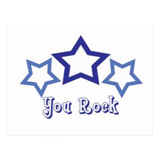 You Rock Postcard