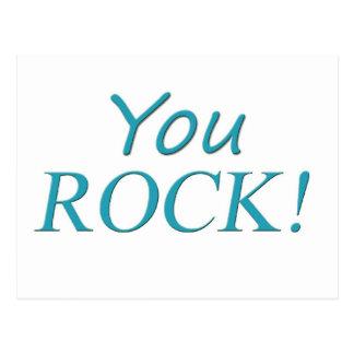 You Rock! Postcard