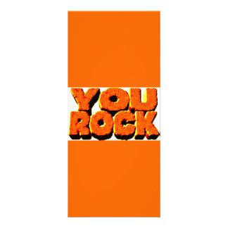 YOU ROCK CUSTOM RACK CARDS