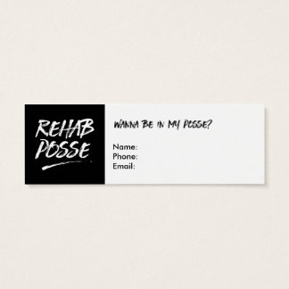 You Rock! Recovery Calling Cards