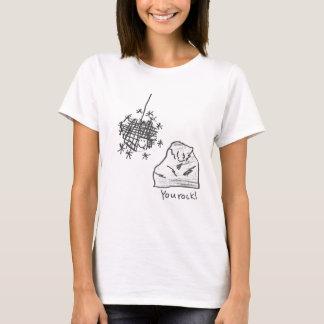 You Rock - Rock and Disco Ball T-Shirt
