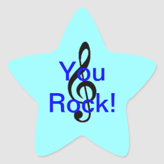 You Rock! Star Sticker
