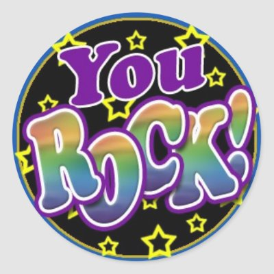 you rock  sticker just sold on zazzle you rock clipart transparent background you rock clip art bing images