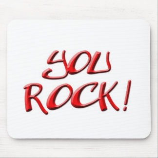You Rock! Thank you gift Mouse Pad