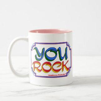 You Rock Two-Tone Coffee Mug