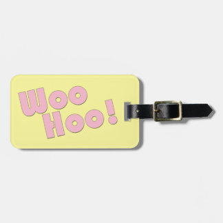 You Rock! WooHoo! Luggage Tag