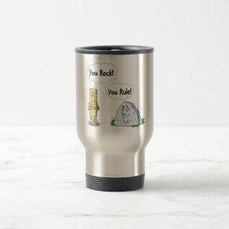You Rock, You Rule 15 Oz Stainless Steel Travel Mug