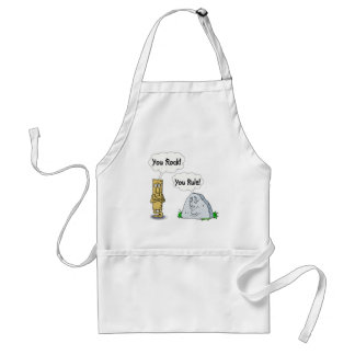 You Rock, You Rule Adult Apron
