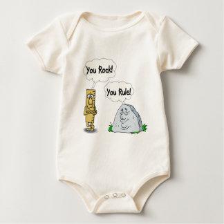 You Rock, You Rule Baby Bodysuit