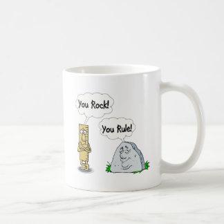 You Rock, You Rule Coffee Mug