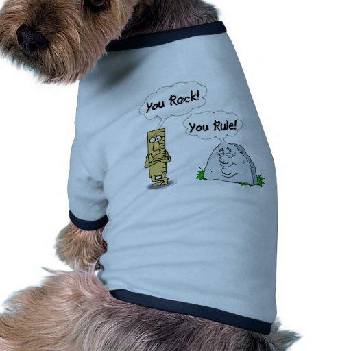 You Rock, You Rule Dog Clothing