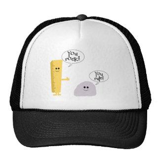You rock you rule trucker hat