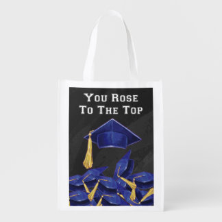 You Rose to the Top Reusable Grocery Bag
