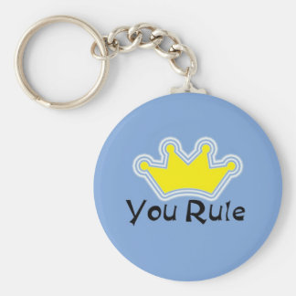 You Rule Keychain