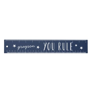 Aztec Themed You Rule | Personalized Ruler