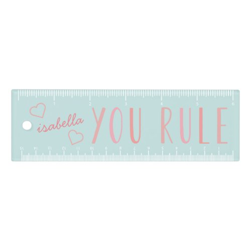 You Rule   Personalized Ruler