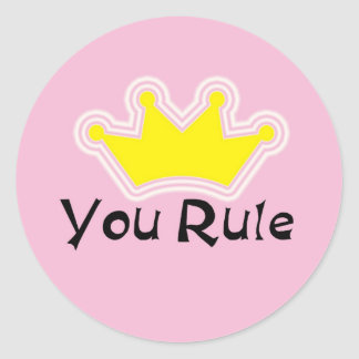 You Rule Stickers