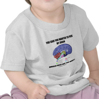 You Said You Wanted To Pick My Brain (Anatomy) T Shirt