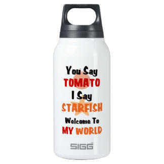 You Say Tomato I say Starfish Insulated Water Bottle