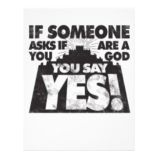 You Say Yes! Letterhead