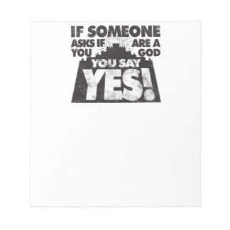 You Say Yes! Notepad