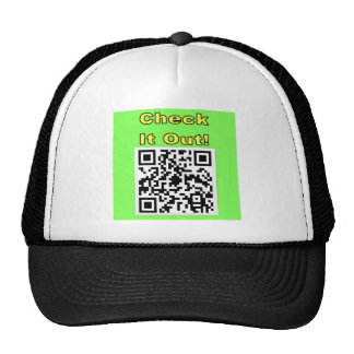 You Scan Mine and I'll Scan Yours!  Qr Message Trucker Hat