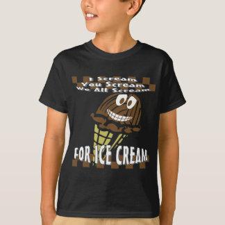 You Scream I Scream We All Scream T-Shirt