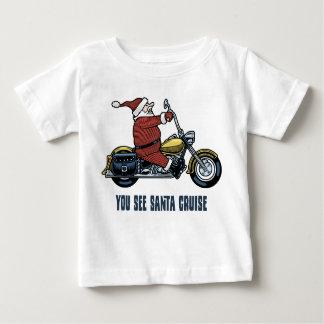 You See Santa Cruise Baby T-Shirt
