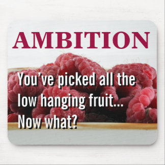 You seem to have no ambition in life mouse pad