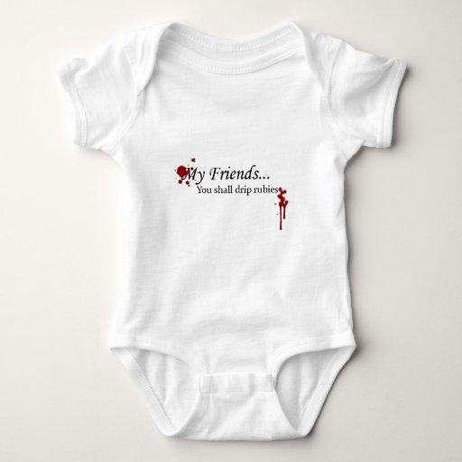 You Shall Drip Rubies Baby Bodysuit