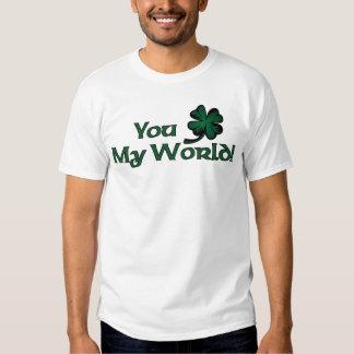 You Shamrock My World! T Shirt