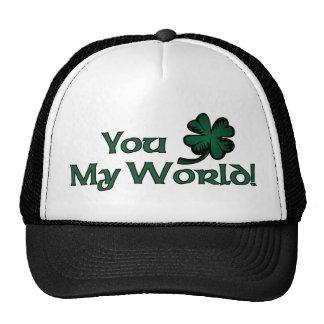 You Shamrock My World Trucker Hat