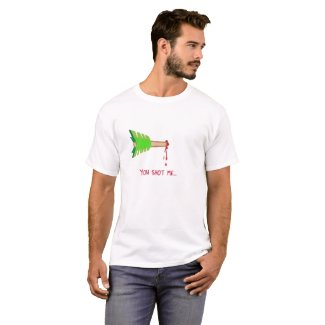You Shot Me through the Heart Arrow T-Shirt